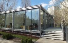 Pawilon przy ul. Bukowińskiej w Warszawie